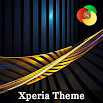Golden lines | Xperia™ Theme 1.0.sr.001