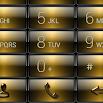 Dialer Gloss Gold Theme Skin 1.0