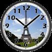 Tour Eiffel Day Clock 88k