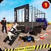 US Police Dog Transport: Multi Level Parking Game 1.3