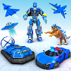 US Police Tiger Robot Game: Police Plane Transport 1.0.4