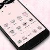Pink Mustache Theme Icon 1.0.0
