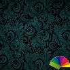 Floral Teal Xperien Theme 1.0.7