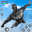 Flying Panther Robot Hero City Crime Fighter 3