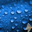 Dew Drops Blue Theme Xperia 1.0.7