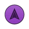 Wooden Radial Violet Icons 1.3.0