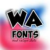 WA Fonts 1.0