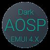 Dark AOSP EMUI 4.X theme HTI1.1.2.TV0.2_PS