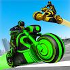 Light Bike Stunt Racing Game 15