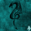 Kit Kat Dragon Teal Theme 1.0.1