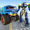 US Police Monster Truck Transform Robot War Games 1.1