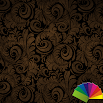Floral Brown Xperien Theme 1.0.7