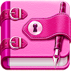 Diary with lock 4.90
