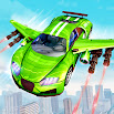 Flying Robot Car: New Free Robot Fighting Games 2.4