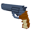 Guns 3D Color by Number - Weapons Voxel Coloring 3.5