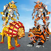 Ultimate Robot Lion Vs Tiger Robot Transform 1.6