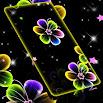 Neon Flowers Live Wallpaper 1.309.1.124