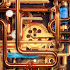 Cool Wallpapers and Keyboard - Steampunk Pipes 3.58