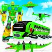 Flying School Bus Robot: Hero Robot Games 22
