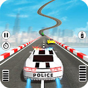 Impossible Police Car Stunts Free 1.3