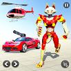 Cat Robot Car Transformation Game: Robot Car Games 1.4