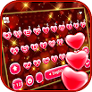 Red Heart Keyboard Theme 2.3