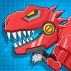 Toy Robot Mexico Rex Dino War 3.7