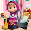 Masha and the Bear: House Cleaning Games for Girls 1.9.28
