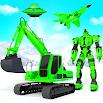 Grand Snow Excavator Robot Transforming Games 13
