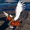Flying Horse Taxi City Transport: Horse Games 2020 3.0