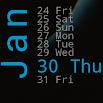 Xperia Calendar Widget 4.3