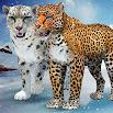 Arctic Leopard Family Snow Forest Sim 2.1