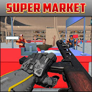 Supermarket Robbery:  City Crime Heist Mission 1.4