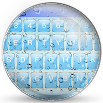 Keyboard Theme Glass Drops 100