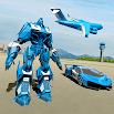 US Police Robot Car Game – Police Plane Transport 1.23