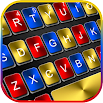 Metal Black Color Keyboard Theme 1.0