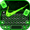 Green Neon Check Keyboard Theme 1.0