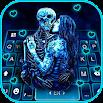 Ghost Lovers Kiss Keyboard Theme 1.0
