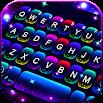 Twinkle Neon Keyboard Theme 5.3