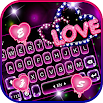 Neon Love Keyboard Theme 1.0