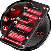 SMS Theme Sphere Red - black 250